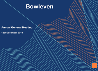 Morgan Stanley Investor Relations >> Presentations Bowleven Plc Oil And Gas Company